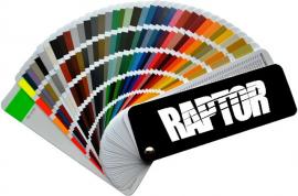 Как колеровать краску RAPTOR (Раптор)